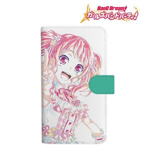 BanG Dream! Girls Band Party! Aya Maruyama Ani-Art Notebook Type Smart Phone Case (L Size) (Anime Toy)