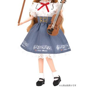 Clothes Licca LW-19 Violin Lesson (Licca-chan)