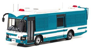 Isuzu Erga Mio 2018 Prefectural Police Department Riot Police Unit Large Man Transit Vehicle (Diecast Car)