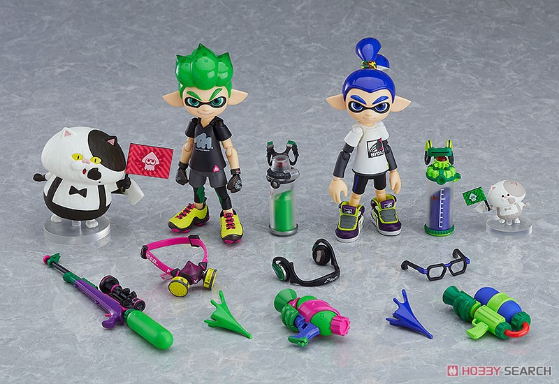 figma Splatoon Boy: DX Edition (PVC Figure) Item picture11