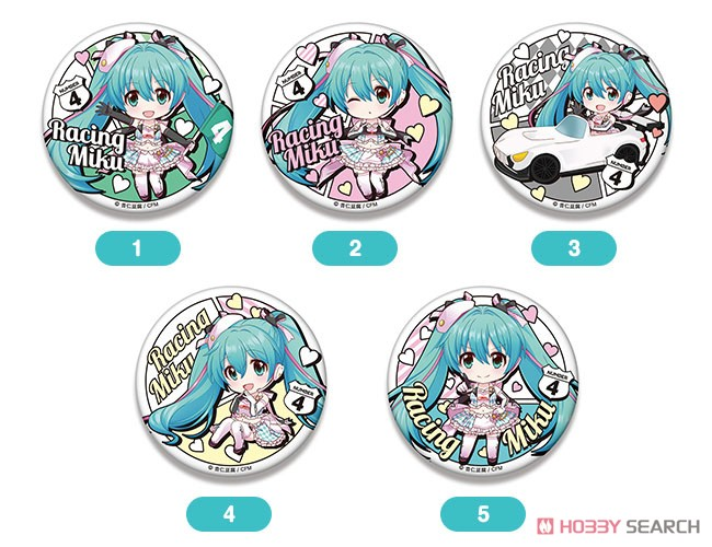 Racing Miku 2019 Ver. Nendoroid Plus Big Can Badge 2 (Anime Toy) Other picture1
