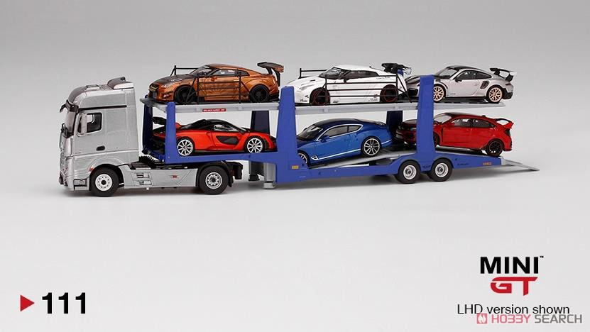 Mercedes-Benz Actros / Car Carrier Trailer (LHD) (Diecast Car) Other picture1