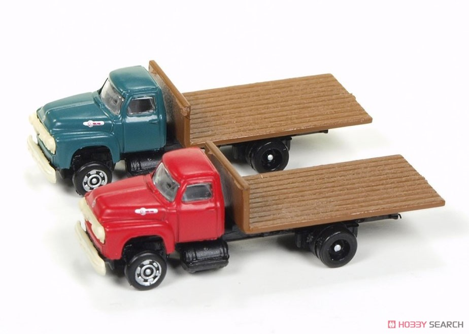 1954 Ford Flat Bed Truck (Set of 2) (Diecast Car) Item picture1