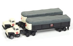 1954 Ford Tractor/Covered Wagon Set US Steel (Set of 2) (Diecast Car)