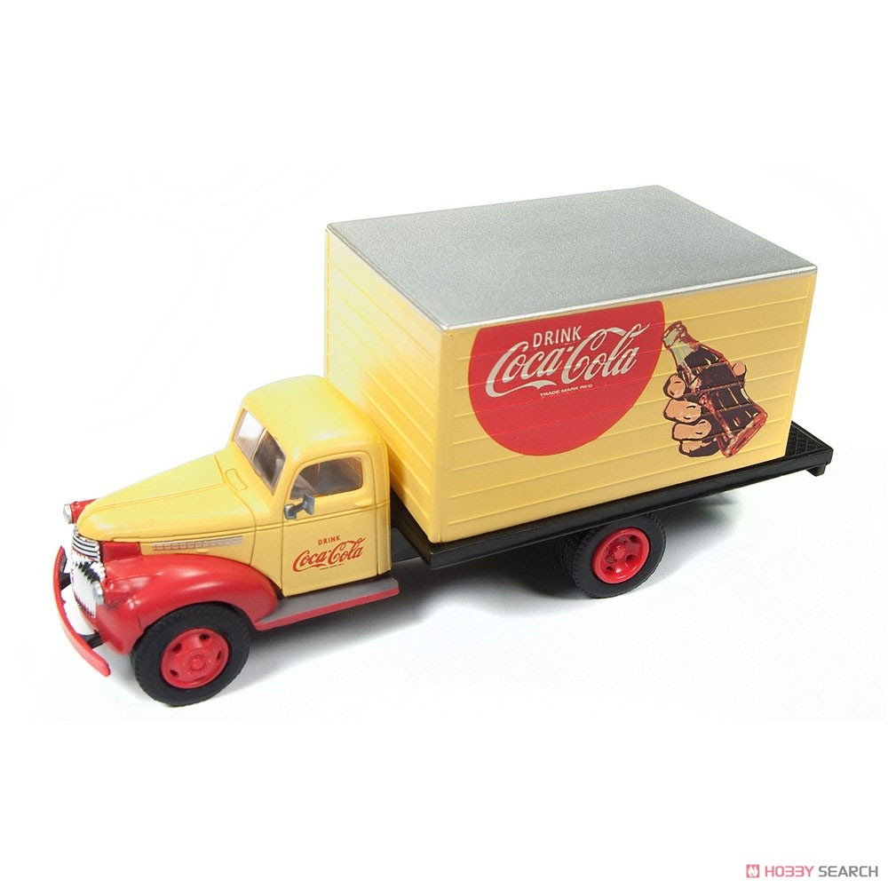 1941-1946 Chevy Box Truck Coca Cola (Diecast Car) Item picture1