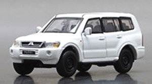 Mitsubishi Pajero (3rd Generation) White (LHD) (Diecast Car)
