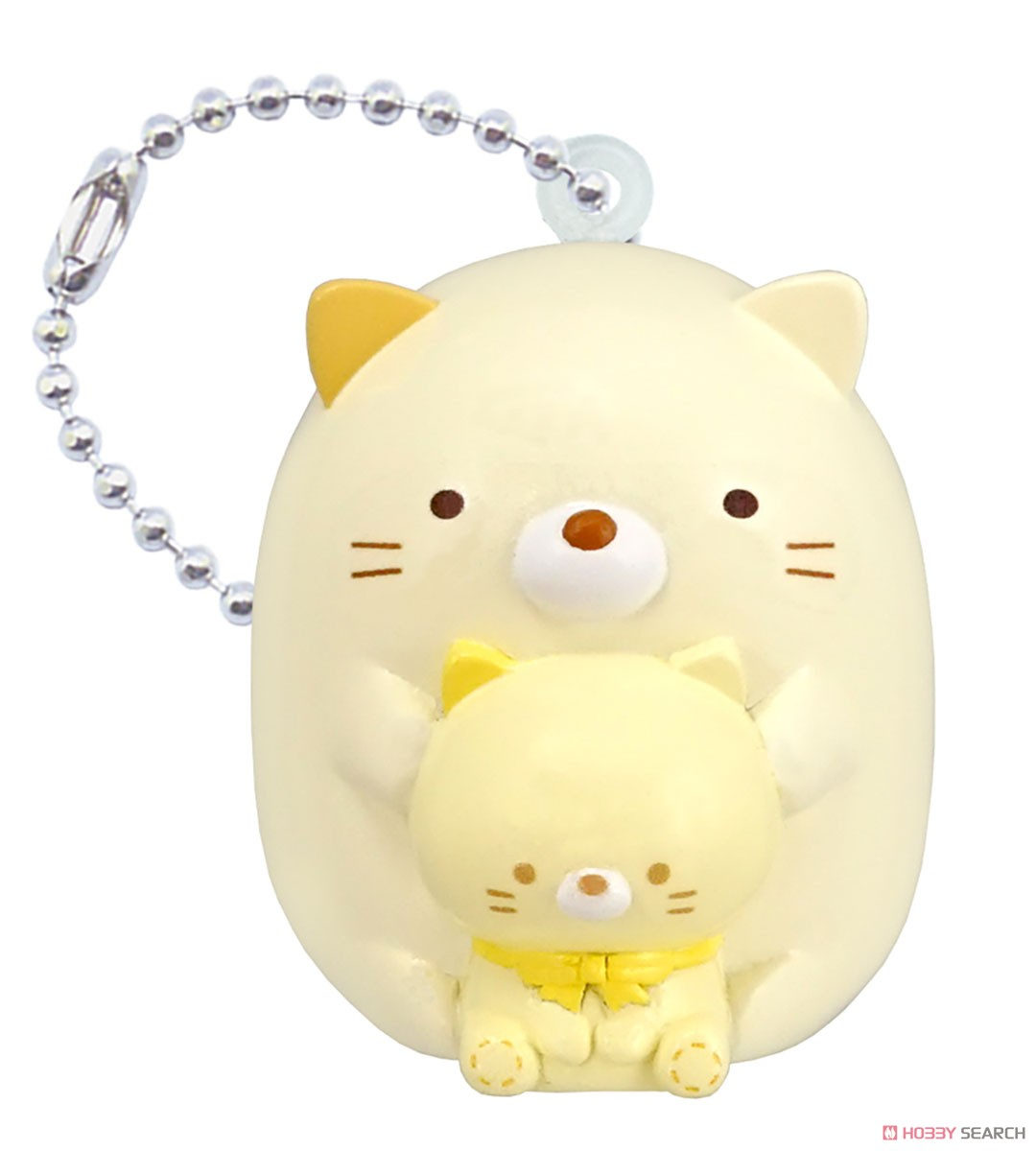 Sumikko Gurashi Fukkura Key Ring 4 (Set of 10) (Shokugan) Item picture3