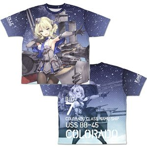 Kantai Collection Colorado Double Sided Full Graphic T-Shirts M (Anime Toy)