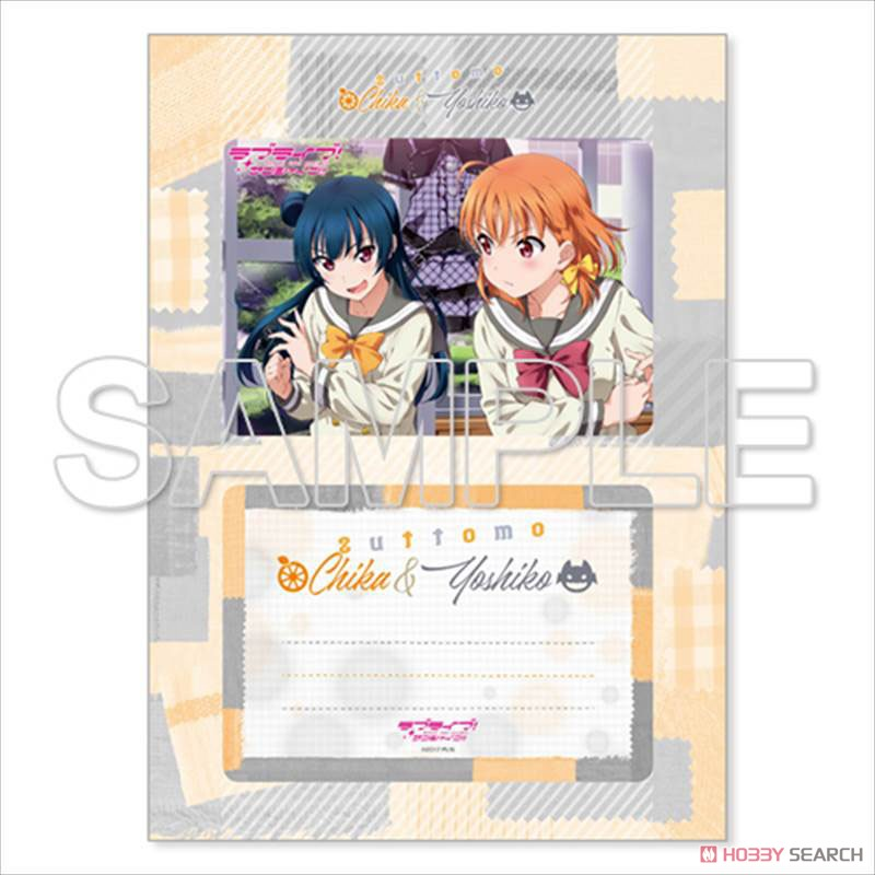 [Love Live! Sunshine!!] Good Friend Photo Stand Chika & Yoshiko w/Bromide (Anime Toy) Item picture1