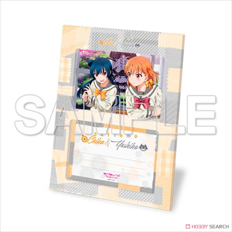 [Love Live! Sunshine!!] Good Friend Photo Stand Chika & Yoshiko w/Bromide (Anime Toy) Item picture2