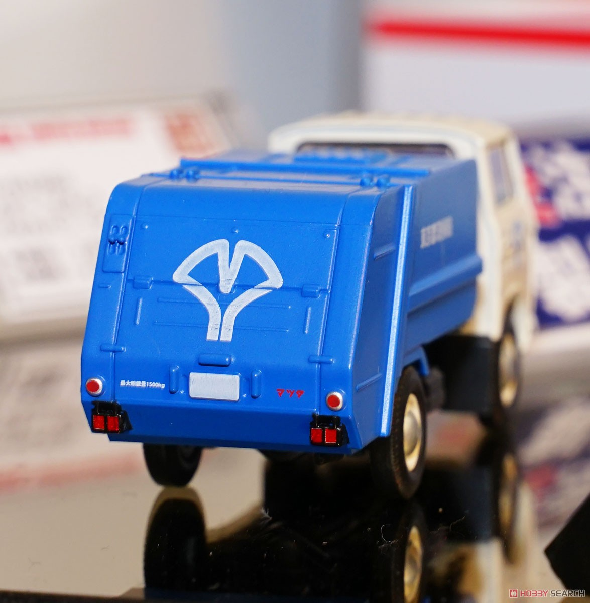 TLV-186a Mazda E2000 Garbage Truck (White/Blue) (Diecast Car) Other picture3