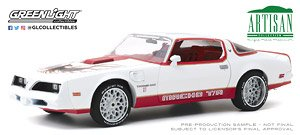 Artisan Collection - 1978 Pontiac Firebird `Macho Trans Am` #11 White and Red (Diecast Car)