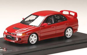 Mitsubishi Lancer GSR Evolution IV (CN9A) Custom Version Palmer Red (Diecast Car)