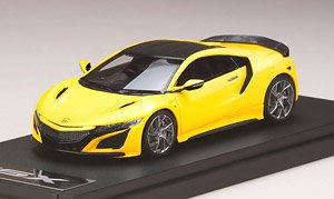Honda NSX (NC1) 2020 Option Equipped Vehicle Yellow Pearl (Diecast Car)