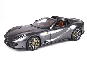 Ferrari 812 GTS 2019 Metallic Gray (Diecast Car)