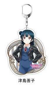 Love Live! Sunshine!! The School Idol Movie Over the Rainbow Big Key Ring Yoshiko Tsushima Casual Wear Ver. (Anime Toy)