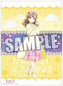 Love Live! Sunshine!! B5 Clear Sheet [Hanamaru Kunikida] Part.16 (Anime Toy)