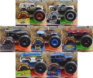 Hot Wheels Monster truck Assort 1:64 (set of 8) (Completed)