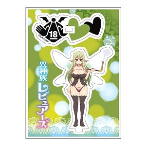 Interspecies Reviewers Acrylic Stand Minimini Aloe (Anime Toy)