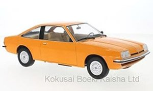 OPEL B Manta Coupe MKII SR Sport rot red schwarz 1975 NEU Diecast MCG  1:18