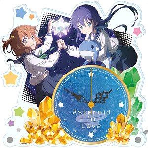 Asteroid in Love Acrylic Table Clock (Anime Toy)