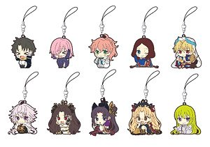 [Fate/Grand Order - Absolute Demon Battlefront: Babylonia] Rubber Starp Collection ViVimus (Set of 10) (Anime Toy)