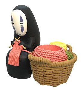 Spirited Away Seal Stand Noh-Face (Anime Toy)