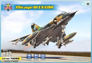 Mirage IIIEA/EBR (Plastic model)