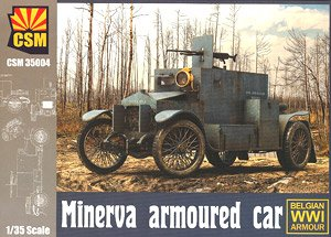 Minerva Armoured Car (Plastic model)