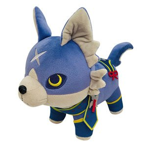 Monster Hunter Rise Deformed Plush Palamute (Anime Toy)