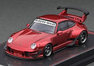 RWB 993 Red Metallic (Diecast Car)