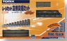 Fine Track Rail Set Bridge Approach Set (Track Layout C) (Model Train)