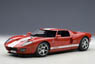 Ford GT 2004 (red / white stripes) (Diecast Car)