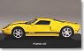 Ford GT 2004 (yellow / black) (Diecast Car)