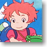 Ponyo on the Cliff by the Sea Ponpon Ship to Go (Anime Toy)