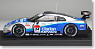 Woodone ADVAN Clarion GT-R Super GT500 (2008) No.24 (Silver / Blue) (Diecast Car)