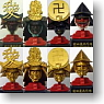 Sengoku Meisho Den Kabuto Collection 8 pieces (PVC Figure)