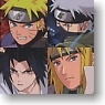 Naruto Sippuuden Assort 4 pieces (Anime Toy)