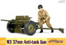 U.S. Army M3 37mm Anti-Tank Gun (Plastic model)
