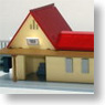 Post-house Triangle-shaped Roof for B-Train Shorty (Unassembled Kit) (Model Train)