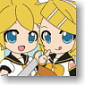 Pikuriru! Kagamine Rin & Kagamine Len Rubber Coaster -Sweets Time- (Anime Toy)