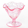 Miniature Parfait Pink Lame Glass (Material)