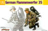 WW.II German Army M35 Flamethrower (Plastic model)
