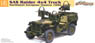 WW.II British Force SAS 4x4 Light Utility Car Northwest Europe (Plastic model)
