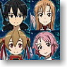 Sword Art Online Mechanical Pencil 4 pieces (Anime Toy)