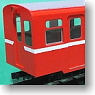 1/80 9mm Taiwan Alishan Forest Railway SP6200 Coach (w/Toilet + w o/Toilet) Pre-colored Completed (2-Car Set) (Model Train)