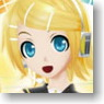 Bushiroad Sleeve Collection HG Vol.468 Hatsune Miku -Project DIVA- f [Kagamine Rin] (Card Sleeve)