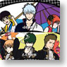 Gintama Folding Fan Yorozuya & Shinsengumi (Anime Toy)