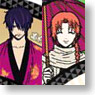 Gintama Folding Fan Takasugi & Kamui And other (Anime Toy)