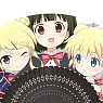 Kiniro Mosaic Folding Fan (Anime Toy)
